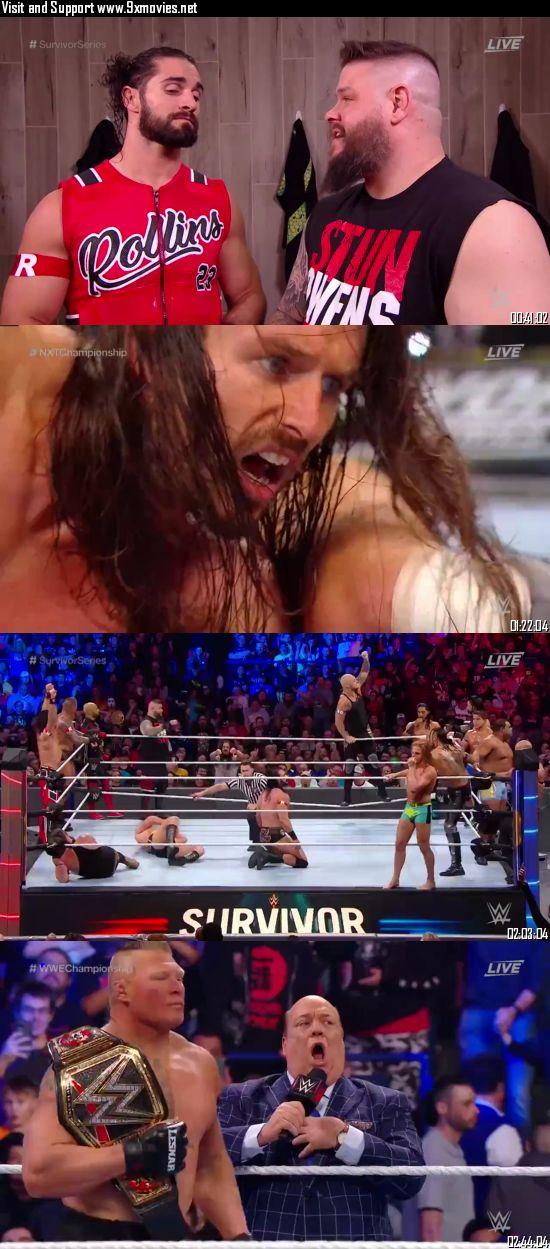 WWE Survivor Series 2019 PPV WEBRip 720p 480p x264 850MB