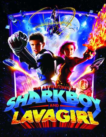 The Adventures of Sharkboy and Lavagirl 2005 Hindi Dual Audio 720p BluRay ESubs