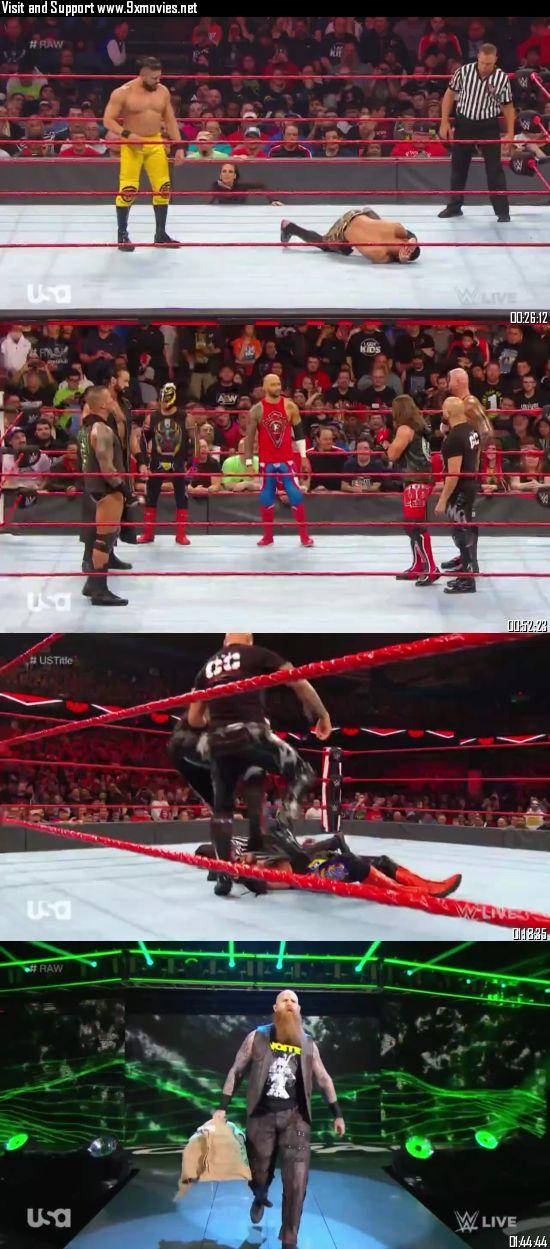 WWE Monday Night Raw 25 November 2019 HDTV 720p 480p 500MB