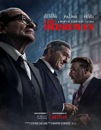 The Irishman 2019 Hindi Dual Audio 720p Web-DL ESubs