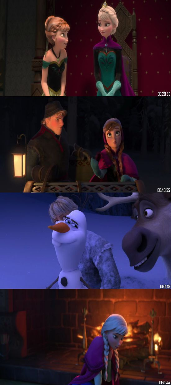 Frozen 2013 BluRay 720p 480p Dual Audio Hindi English Full Movie Download