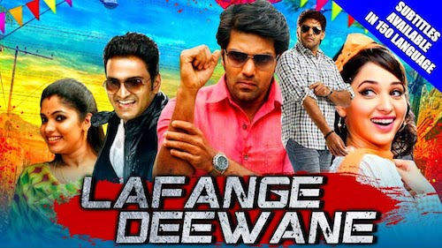 Lafange Deewane 2019 Hindi Dubbed 480p HDRip 300mb