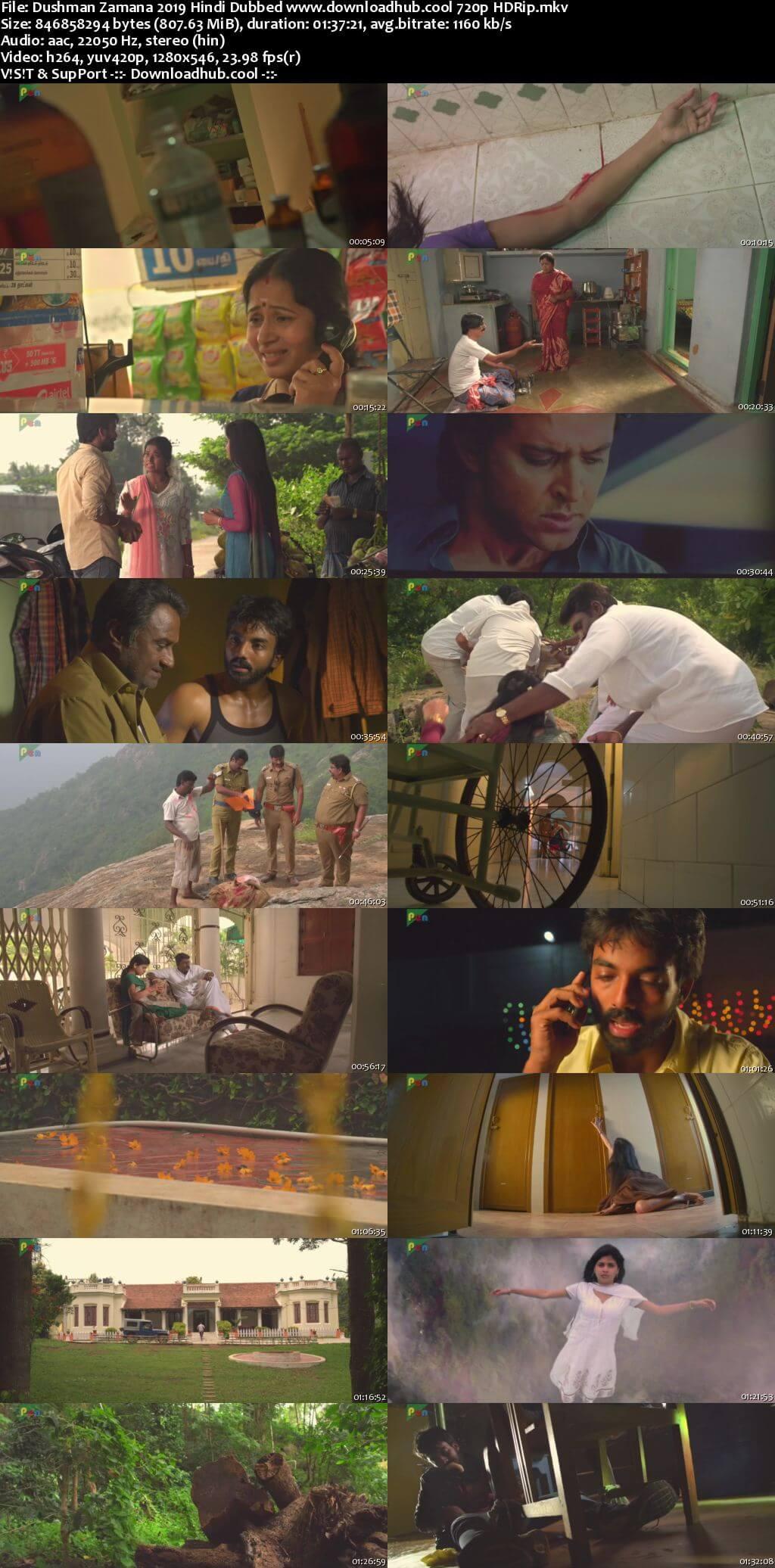Dushman Zamana 2019 Hindi Dubbed 720p HDRip x264