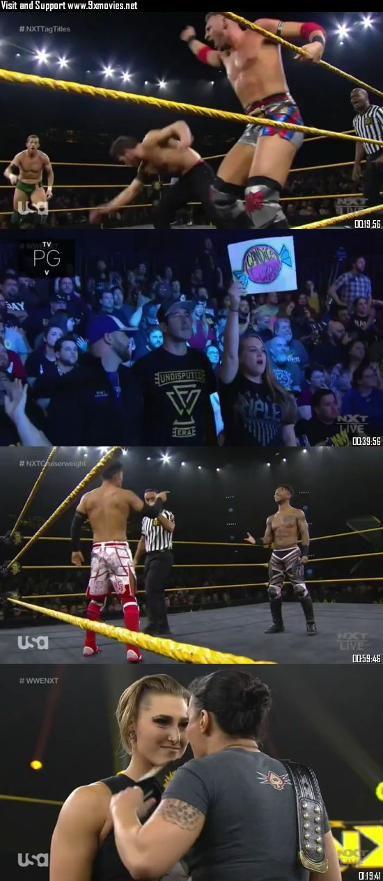 WWE NXT 27 November 2019 WEBRip 480p 400MB