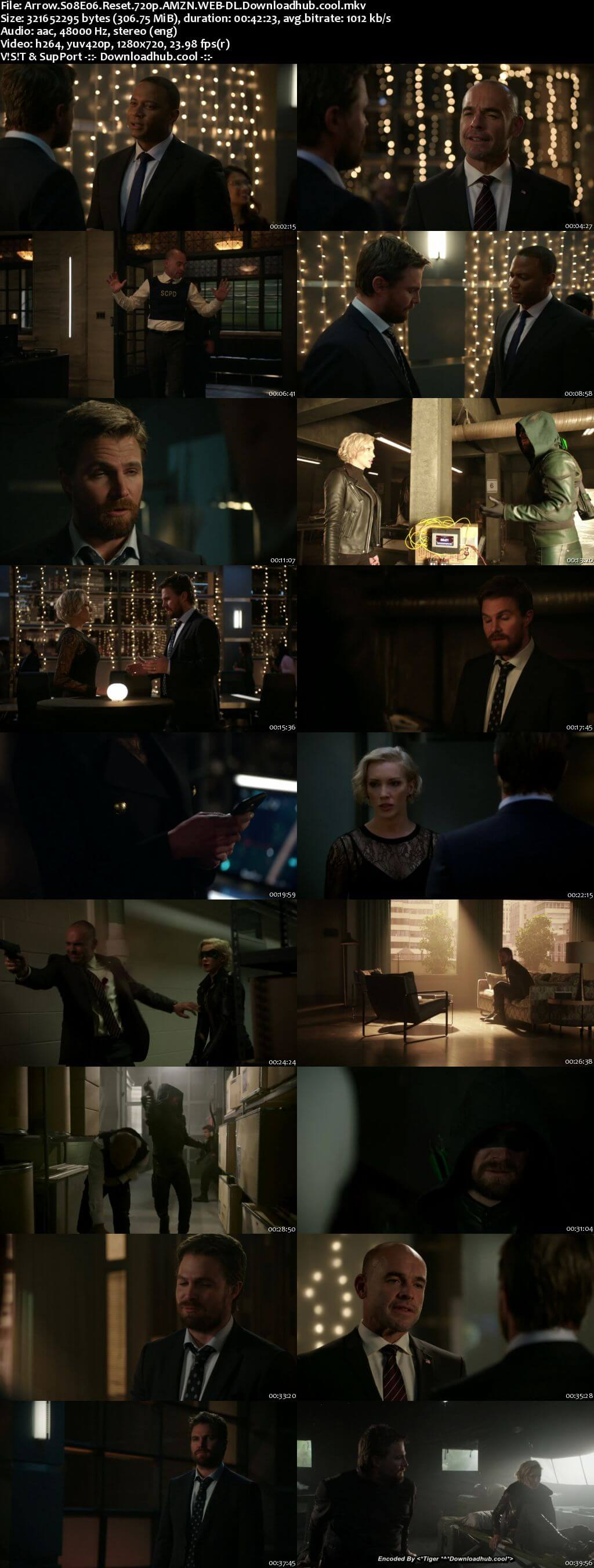 Arrow S08E06 300MB AMZN WEB-DL 720p ESubs