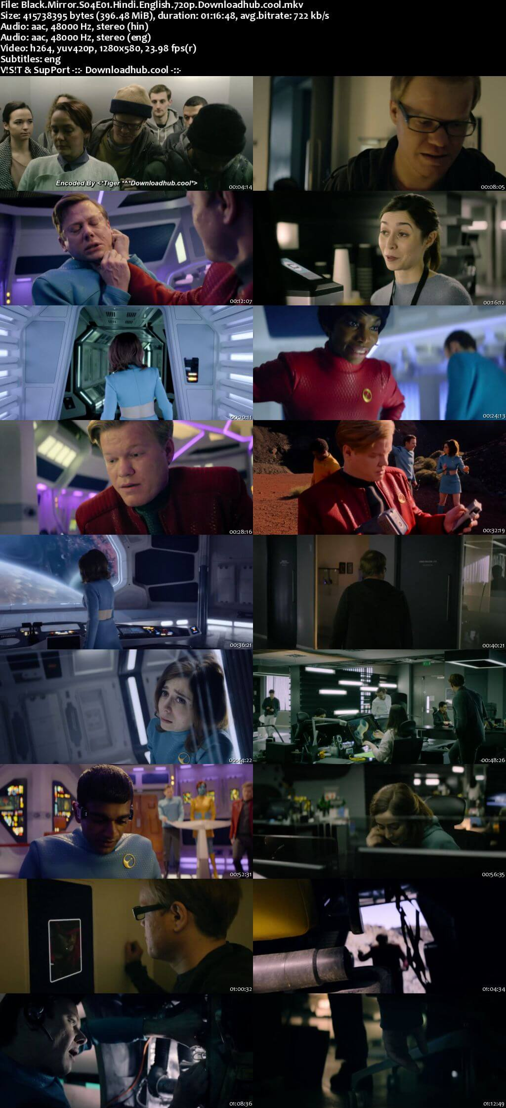 Black Mirror S04 Complete Hindi Dual Audio 720p Web-DL ESubs