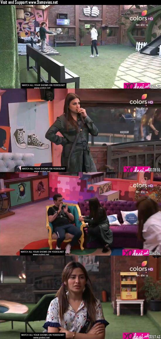 Bigg Boss 28 November 2019 HDTV 720p 480p 500MB