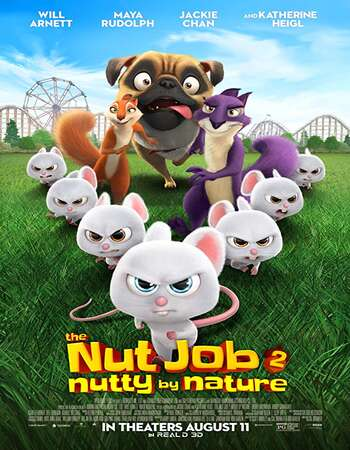 The Nut Job 2 Nutty by Nature 2017 Hindi Dual Audio BRRip Full Movie 720p Download