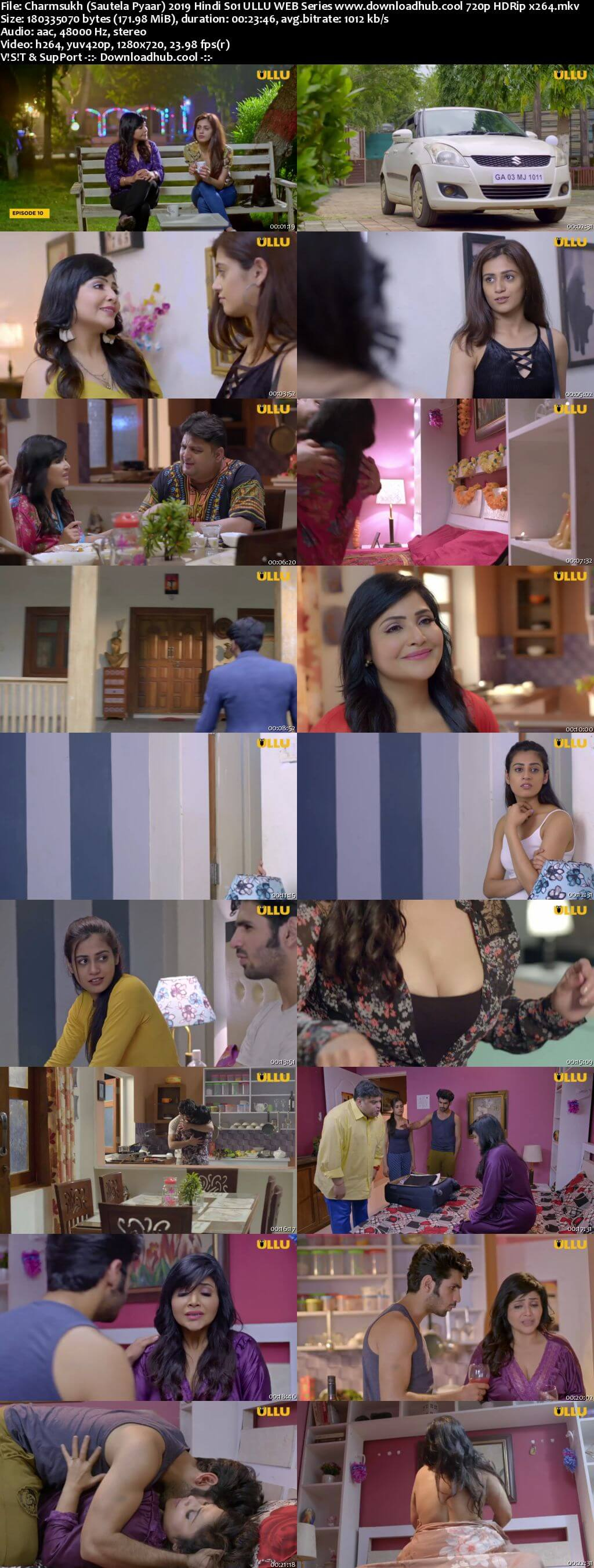 Charmsukh (Sautela Pyaar) 2019 Hindi S01 ULLU WEB Series 720p HDRip x264