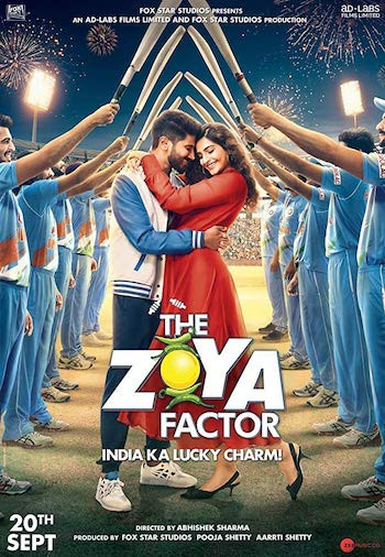 The Zoya Factor 2019 Hindi 720p WEB-DL 1GB