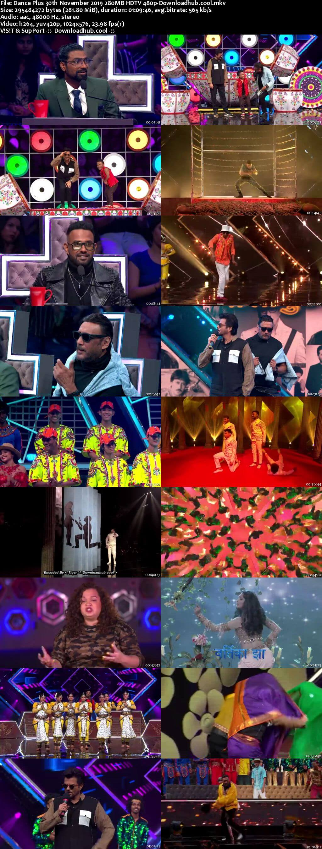 Dance Plus 30 November 2019 Episode 07 HDTV 480p