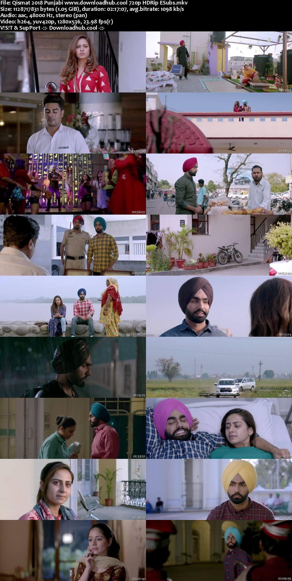 Qismat 2018 Punjabi 720p HDRip ESubs