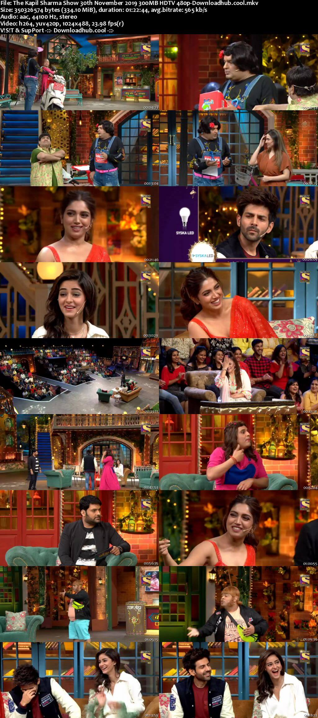 The Kapil Sharma Show 30 November 2019 Episode 95 HDTV 480p