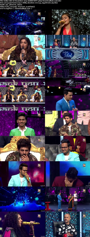 Indian Idol 01 December 2019 Episode 16 HDTV 480p