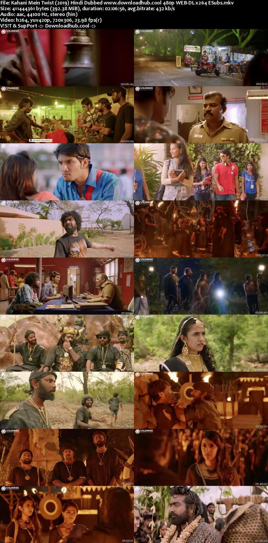 Kahani Mein Twist 2019 Hindi Dubbed 400MB HDRip 480p ESubs