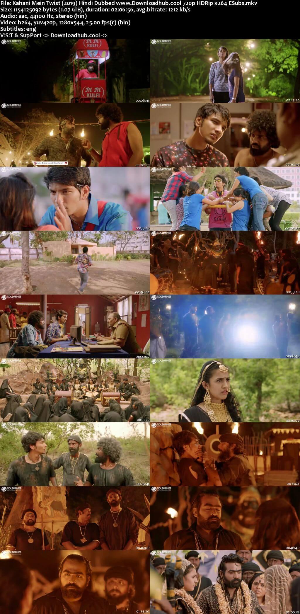 Kahani Mein Twist 2019 Hindi Dubbed 720p HDRip ESubs