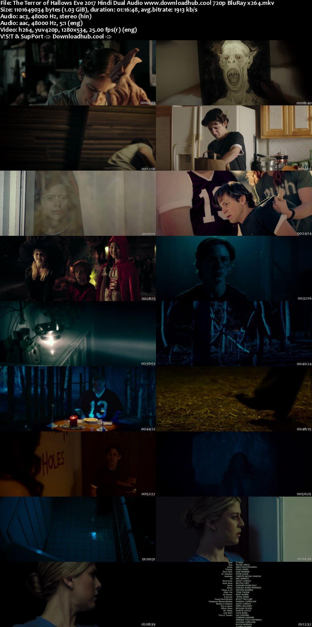 The Terror of Hallows Eve 2017 Hindi Dual Audio 720p BluRay x264