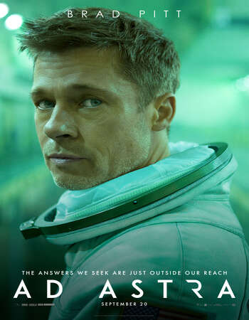 Ad Astra 2019 Hindi ORG Dual Audio 600MB BluRay 720p ESubs HEVC