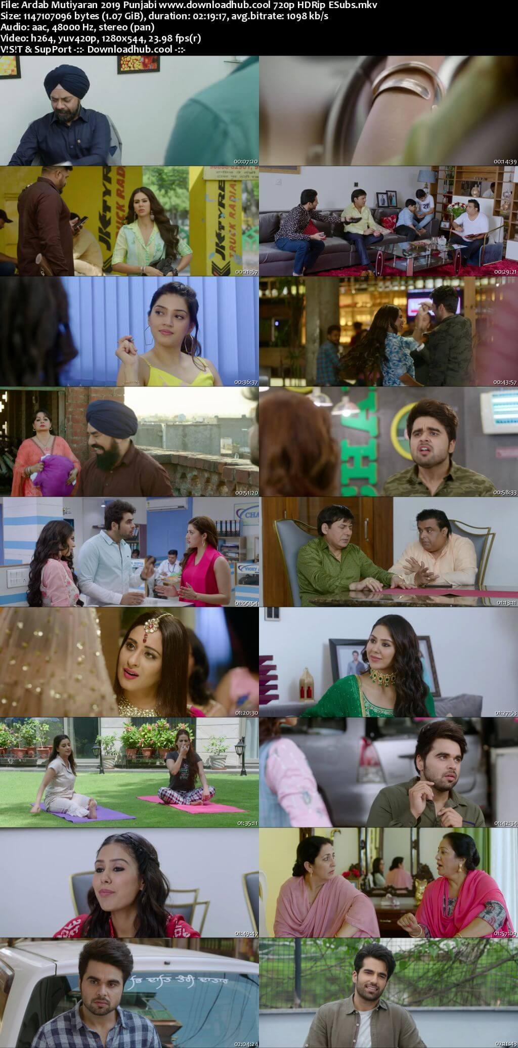 Ardab Mutiyaran 2019 Punjabi 720p HDRip ESubs