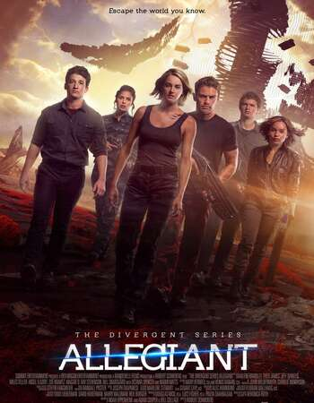 Allegiant 2016 Hindi Dual Audio 350MB BluRay 480p ESubs