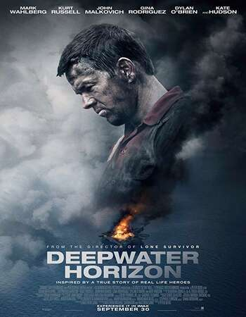 Deepwater Horizon 2016 Hindi Dual Audio 550MB BluRay 720p ESubs HEVC