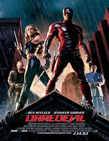 Daredevil 2003 Hindi Dual Audio 300MB BluRay 480p