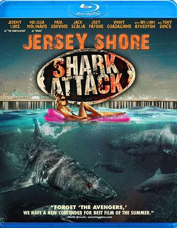 Jersey Shore Shark Attack 2012 Hindi Dual Audio 280MB BluRay 480p ESubs