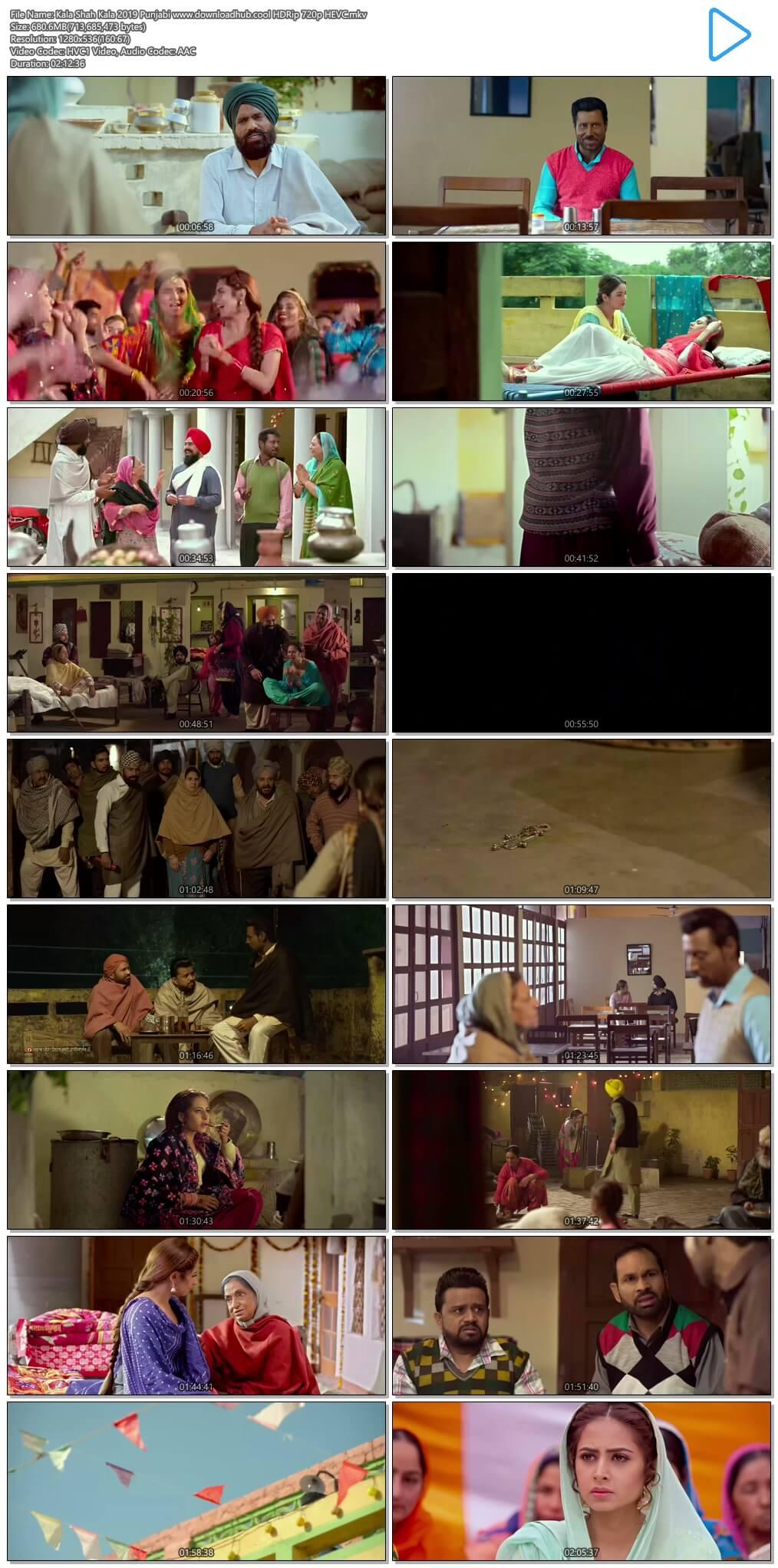 Kala Shah Kala 2019 Punjabi 650MB HDRip 720p HEVC