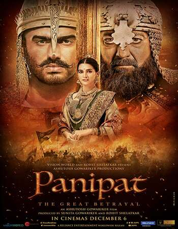 Panipat 2019 Hindi 800MB HDRip 720p ESubs HEVC
