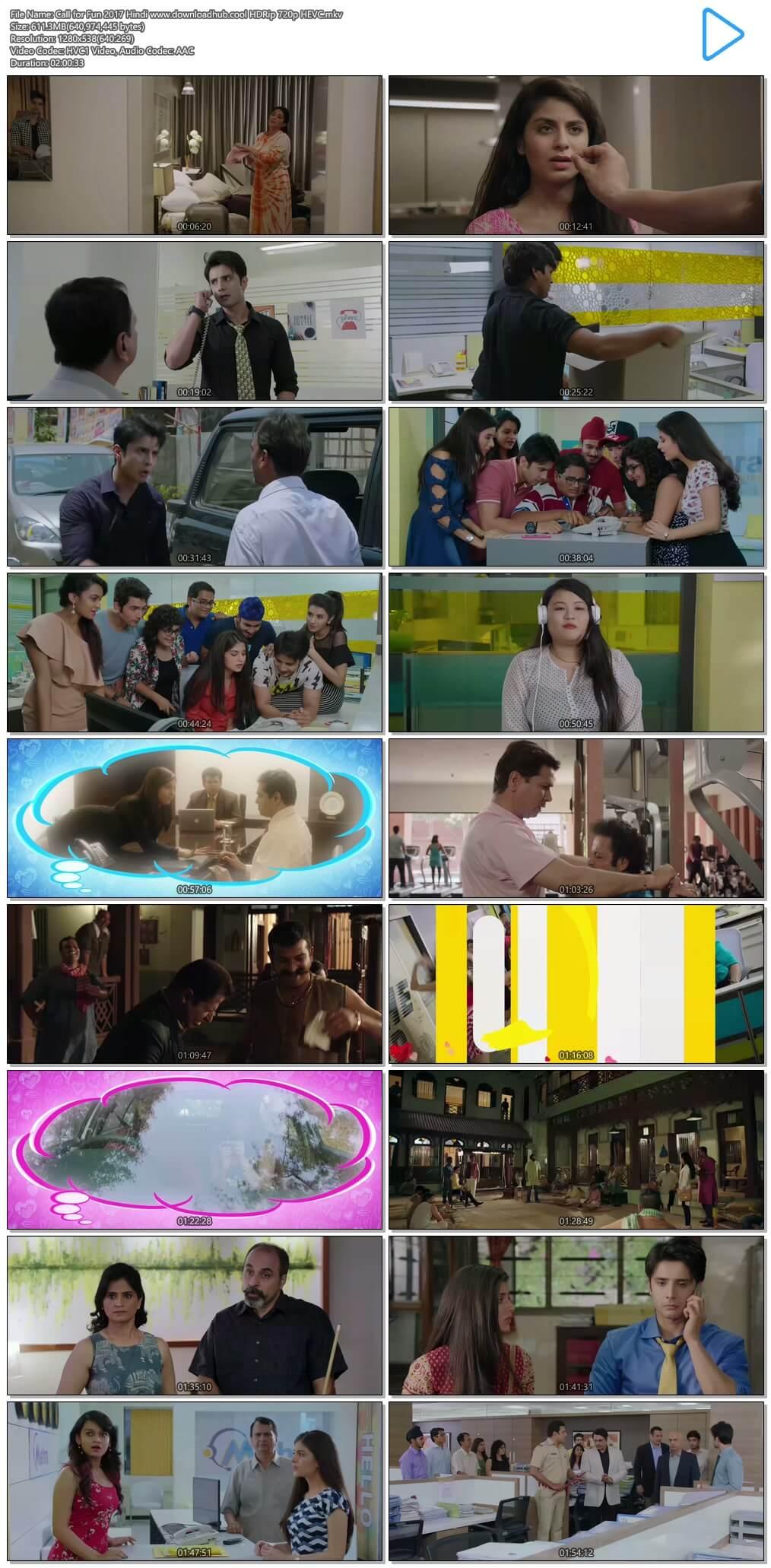 Call for Fun 2017 Hindi 600MB HDRip 720p HEVC