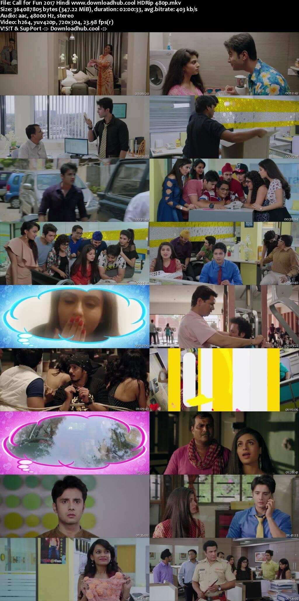 Call for Fun 2017 Hindi 350MB HDRip 480p