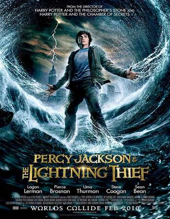 Percy Jackson And the Olympians The Lightning Thief 2010 Hindi Dual Audio 350MB BluRay 480p ESubs