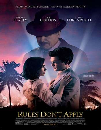 Rules Dont Apply 2016 Hindi Dual Audio 720p BluRay ESubs