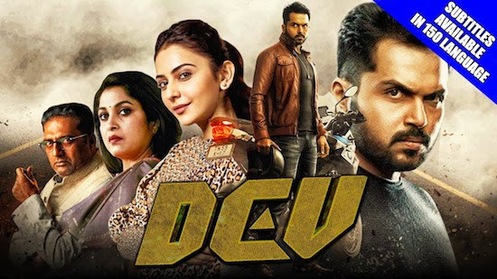 Dev 2019 Hindi Dubbed 720p HDRip 1GB