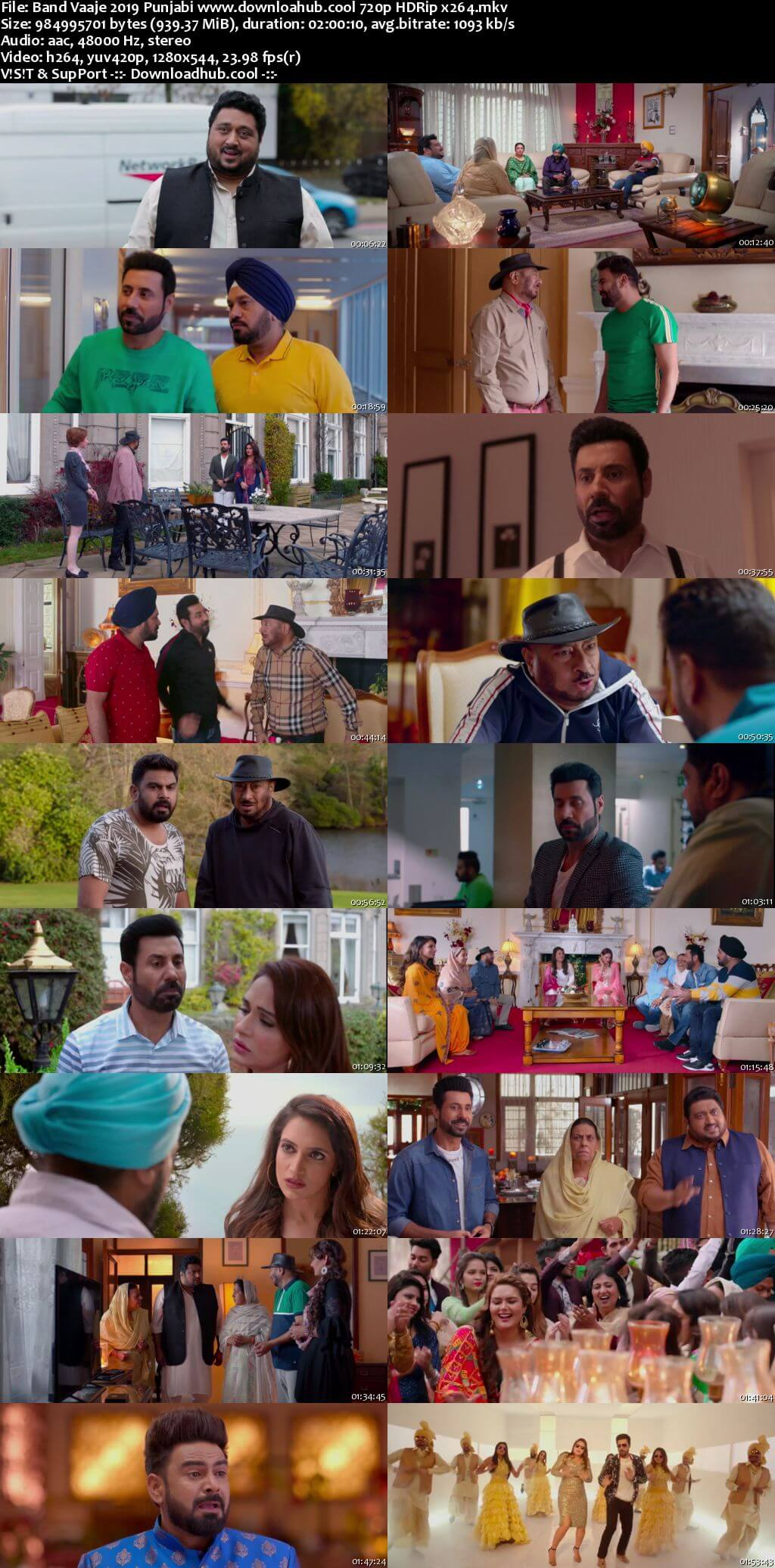 Band Vaaje 2019 Punjabi 720p HDRip x264