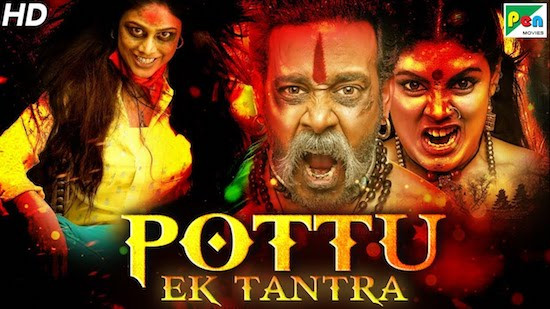 Pottu Ek Tantra 2019 Hindi Dubbed 720p HDRip 800mb