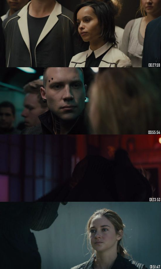 Divergent 2014 BluRay 720p 480p Dual Audio Hindi English Full Movie Download