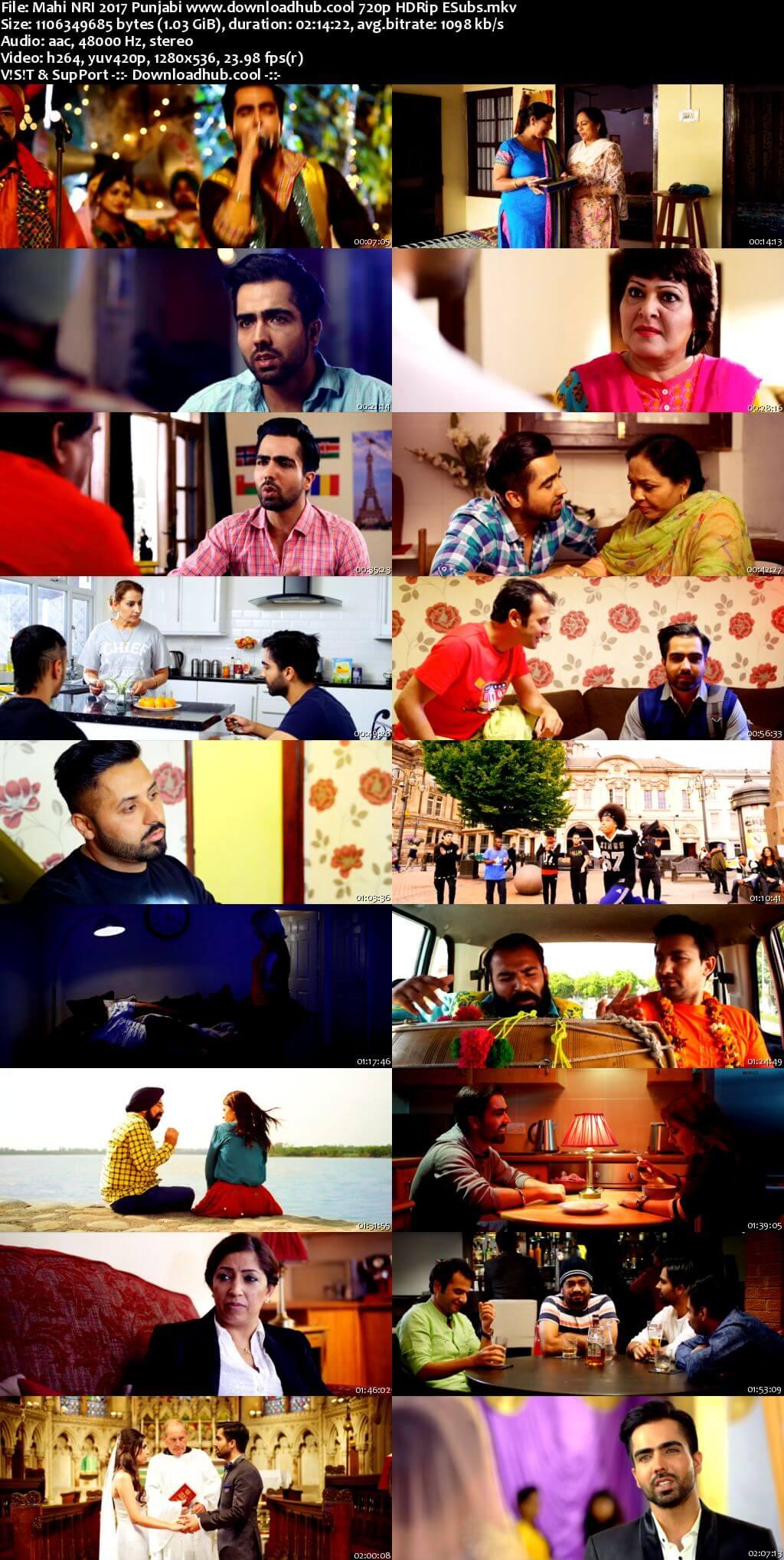 Mahi NRI 2017 Punjabi 720p HDRip ESubs