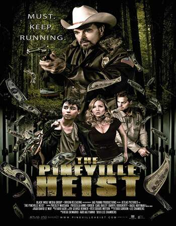 The Pineville Heist 2016 Hindi Dual Audio 250MB WEBRip 480p