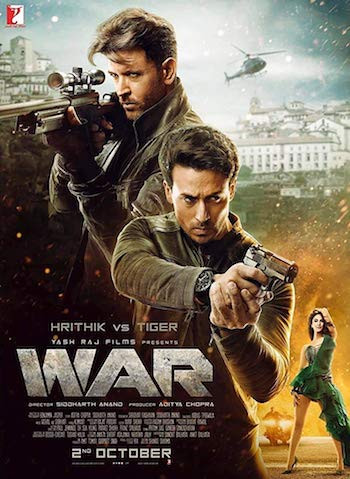 War 2019 Hindi 720p BRRip 1.1GB