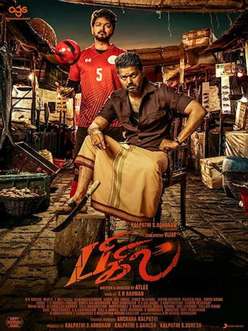 Bigil 2019 Tamil 720p HDRip 1.3GB ESubs