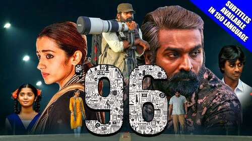 96 2019 Hindi Dubbed 720p HDRip x264