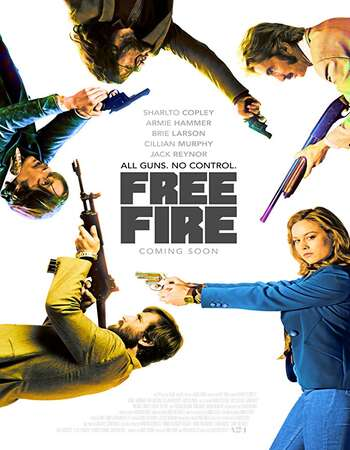 Free Fire 2016 Hindi Dual Audio 450MB BluRay 720p ESubs HEVC