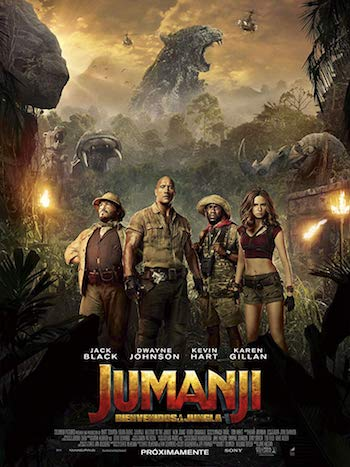 Jumanji The Next Level 2019 Dual Audio Hindi 720p HDCAM 1GB