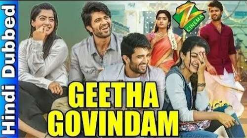 Geetha Govindam 2019 Hindi Dubbed 650MB HDRip 720p HEVC