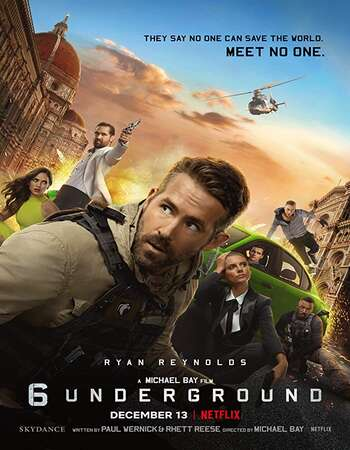 6 Underground 2019 Hindi Dual Audio 400MB Web-DL 480p ESubs
