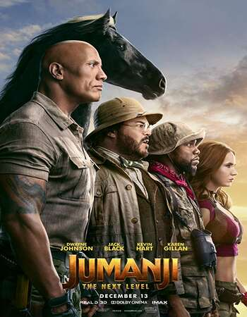 Jumanji The Next Level 2019 Hindi Dual Audio 350MB HDCAM 480p