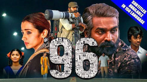 96 (2019) Hindi Dubbed 480p HDRip 350mb