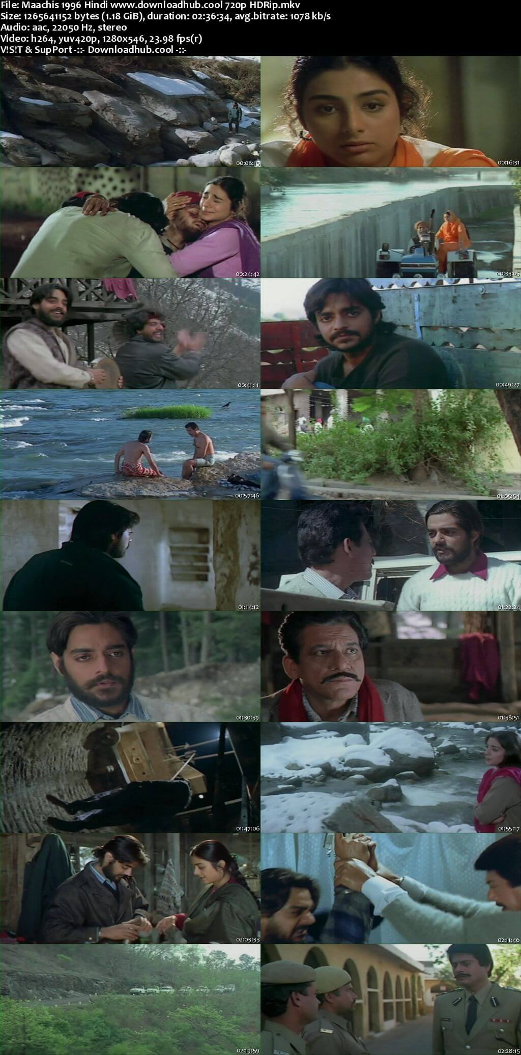 Maachis 1996 Hindi 720p HDRip x264