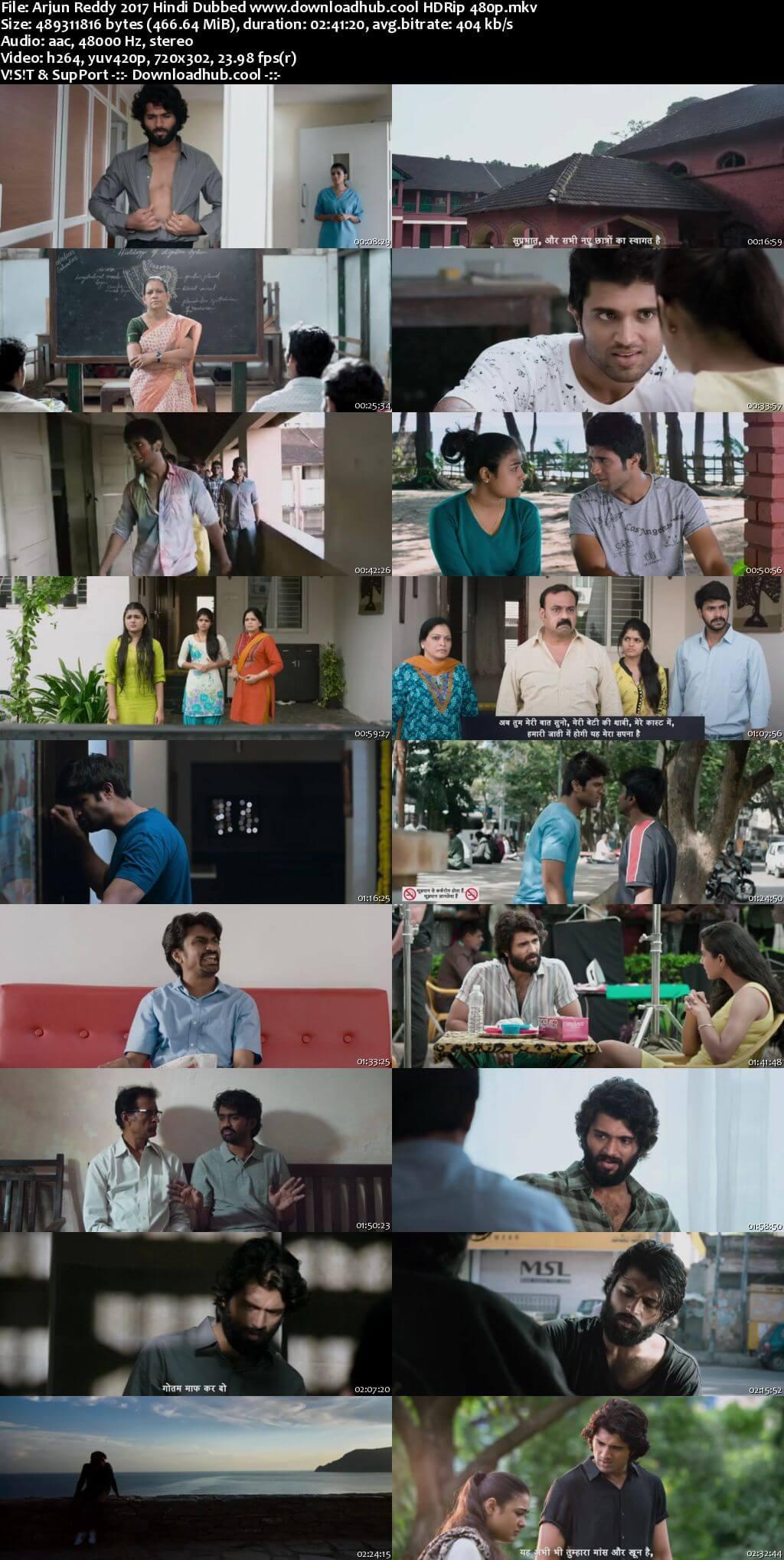 Arjun Reddy 2017 Hindi Dubbed 450MB HDRip 480p